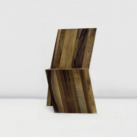 Projekt krzesła asymetrycznego